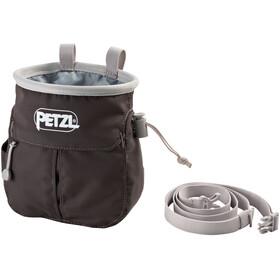 Petzl Sakapoche - Bolsas para Tiza & Boulder - gris